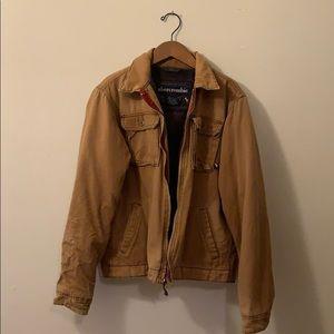 Abercrombie Boys Khaki Jacket